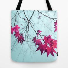 Maple Tree Stars Tote Bag