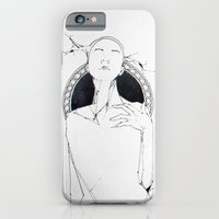iPhone & iPod Case featuring lama by leonard zarnescu
