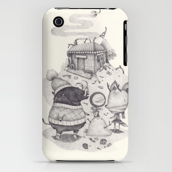 neige iPhone & iPod Case