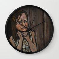 An Unfortunate End Wall Clock