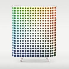 Colour Spots Shower Curtain