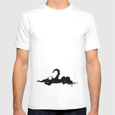 octopgirl SMALL White Mens Fitted Tee