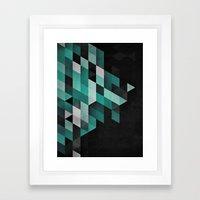 Dryma Mynt Framed Art Print