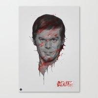 Dexter/Michael C.Hall Canvas Print
