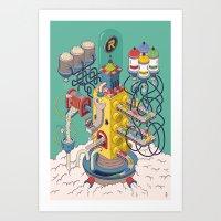 Rasti / Industria Argent… Art Print