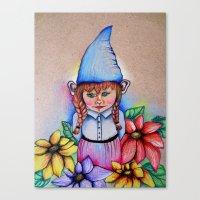 Gnome 2 Canvas Print