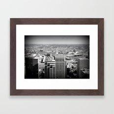 Cincinnati - Downtown #2 Framed Art Print