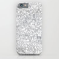 iPhone & iPod Case featuring Neighborhood II by Judy Kaufmann