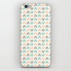 Pattern: Olive + Peach Arrows iPhone & iPod Skin