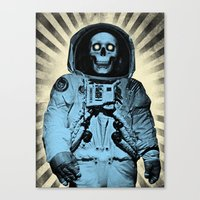 Punk Space Kook Canvas Print