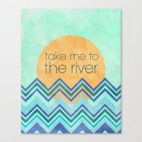 Take Me To The River Canvas Print