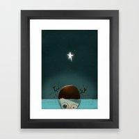 ...Under the Sea... Framed Art Print