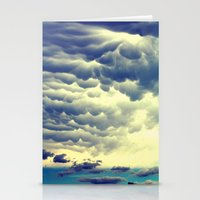 Mammatus Clouds II Stationery Cards