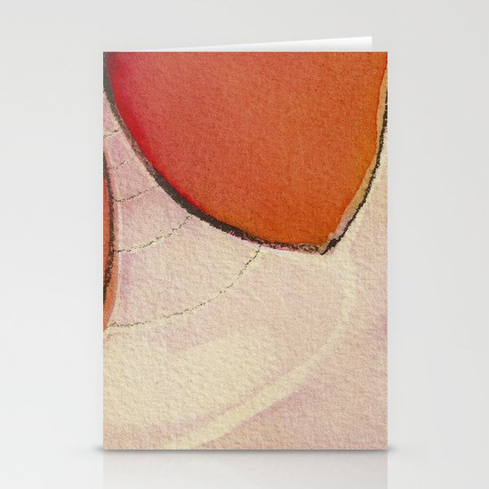 Tapas Abstract 1 Stationery Card