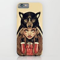 iPhone Cases featuring Red Riding Hood by Giulio Rossi
