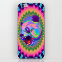 Prismatic Panda  iPhone & iPod Skin