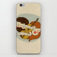 Music Is All Around iPhone & iPod Skin