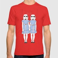 Grady twins troopers Mens Fitted Tee Red SMALL