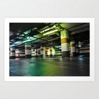 Parking Garage Art Print
