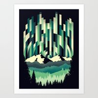 Sunrise In Vertical - Wi… Art Print