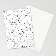 Dazed + Confused [White] Stationery Cards