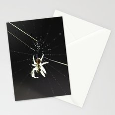 Spider on the Web Stationery Cards