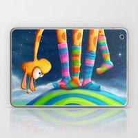 Striped Socks - Revisite… Laptop & iPad Skin