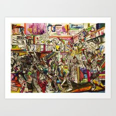 Coogi Sweater Party Art Print