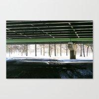 Under the Van Wyck  Canvas Print