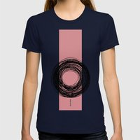 - Life Extended - Womens Fitted Tee Navy SMALL