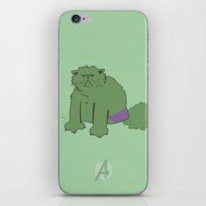 The Incatable Hulk iPhone & iPod Skin