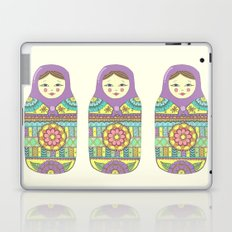 Russian Doll Laptop & iPad Skin