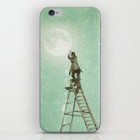 Waning Moon iPhone & iPod Skin
