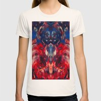 Omen Art Womens Fitted Tee Natural SMALL