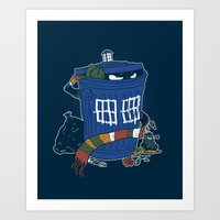 Doctor The Grouch Art Print
