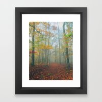 Find Your Path Framed Art Print
