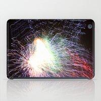 Electric night iPad Case