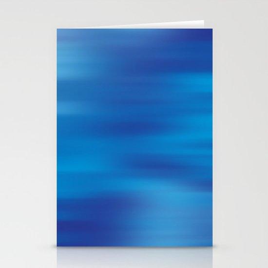 True Blue  Stationery Card
