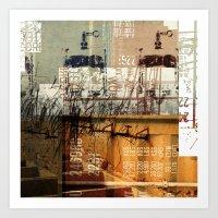 BABEL OVERDUBS II Art Print