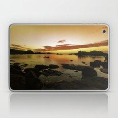 Rocky sunset Laptop & iPad Skin