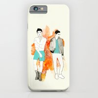 iPhone & iPod Case featuring HIPSTER by Margret Aurin