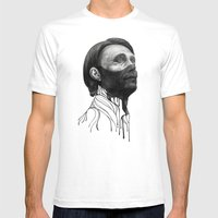 Hannibal Lecter Mens Fitted Tee White SMALL