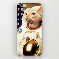 Astronaut Cat iPhone & iPod Skin