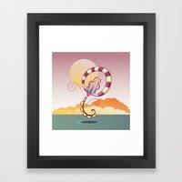 Joy Jump Framed Art Print