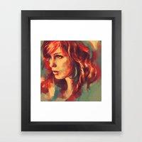 Your Girl, She's A Reneg… Framed Art Print