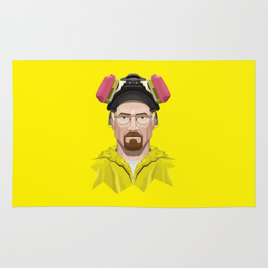 Breaking Bad - Walter White in Lab Gear Area & Throw Rug