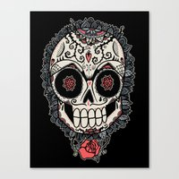 Muerte Acecha Canvas Print