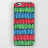 Pattern Doodle Four iPhone & iPod Skin