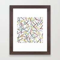 Kerplunk 15 Framed Art Print