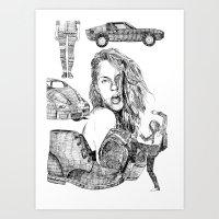 Fashion)  Art Print